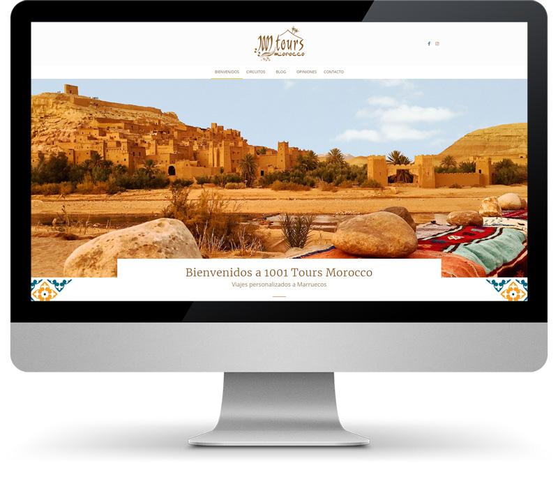 1001 Tours Morocco Disseny web mandigit