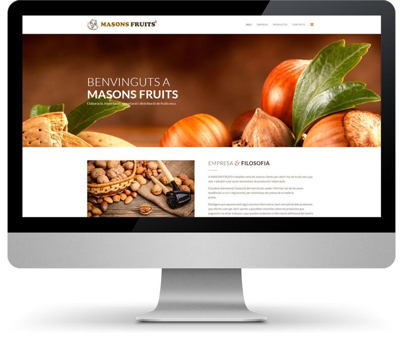 Masons Fruits Disseny Web Mandigit